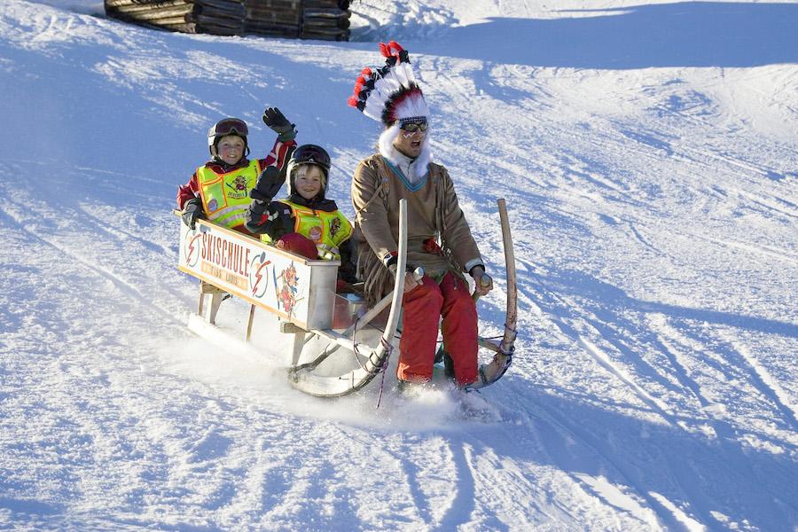 Топ-5 горнолыжных курортов для первого спуска