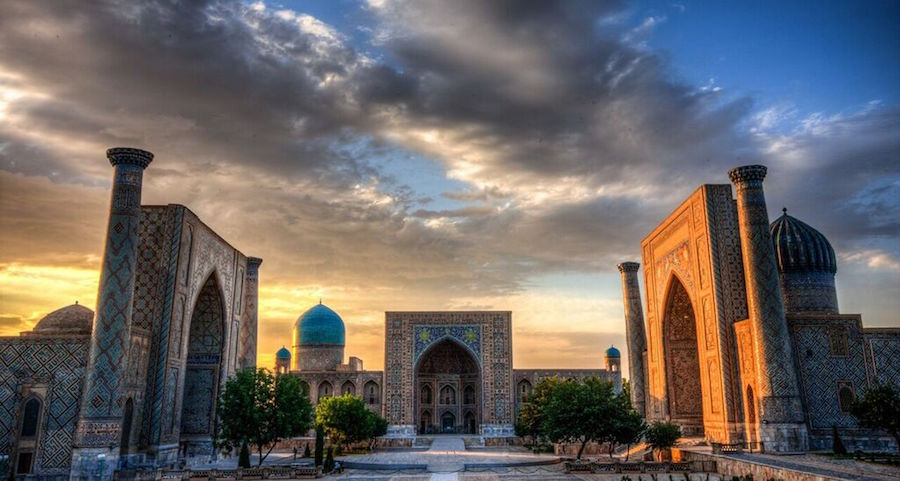 Самарканд – город мечетей, мавзолеев и медресе