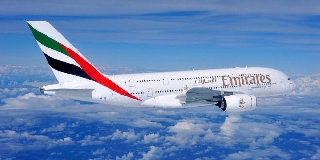 Отпразднуйте прибытие  100-го Эмирейтс A380