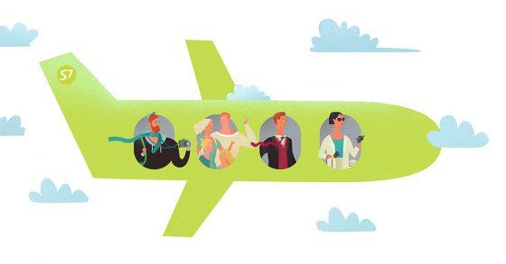 Все, что вы хотели знать о перелетах с S7 Airlines