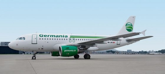 Germania: рейс Санкт-Петербург -Дрезден