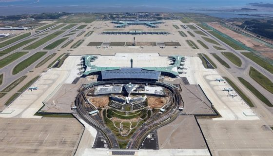Korean Air переводит рейсы в новый терминал