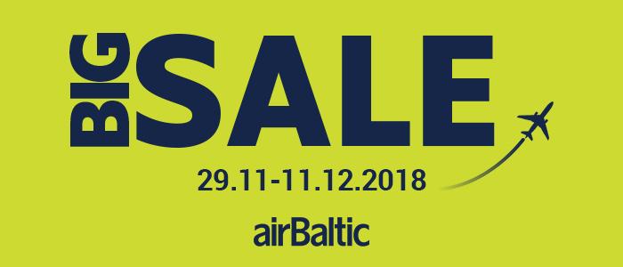 Зимняя распродажа билетов от airBaltic!