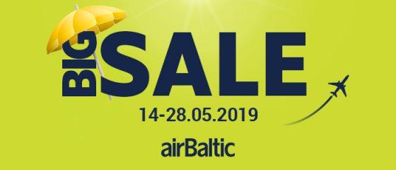 Большая распродажа билетов airBaltic!